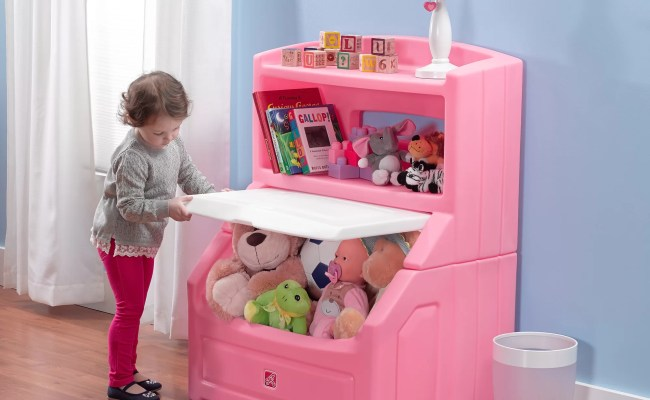 Step2 The Lift And Hide Bookcasetoy Storage Box Reviews