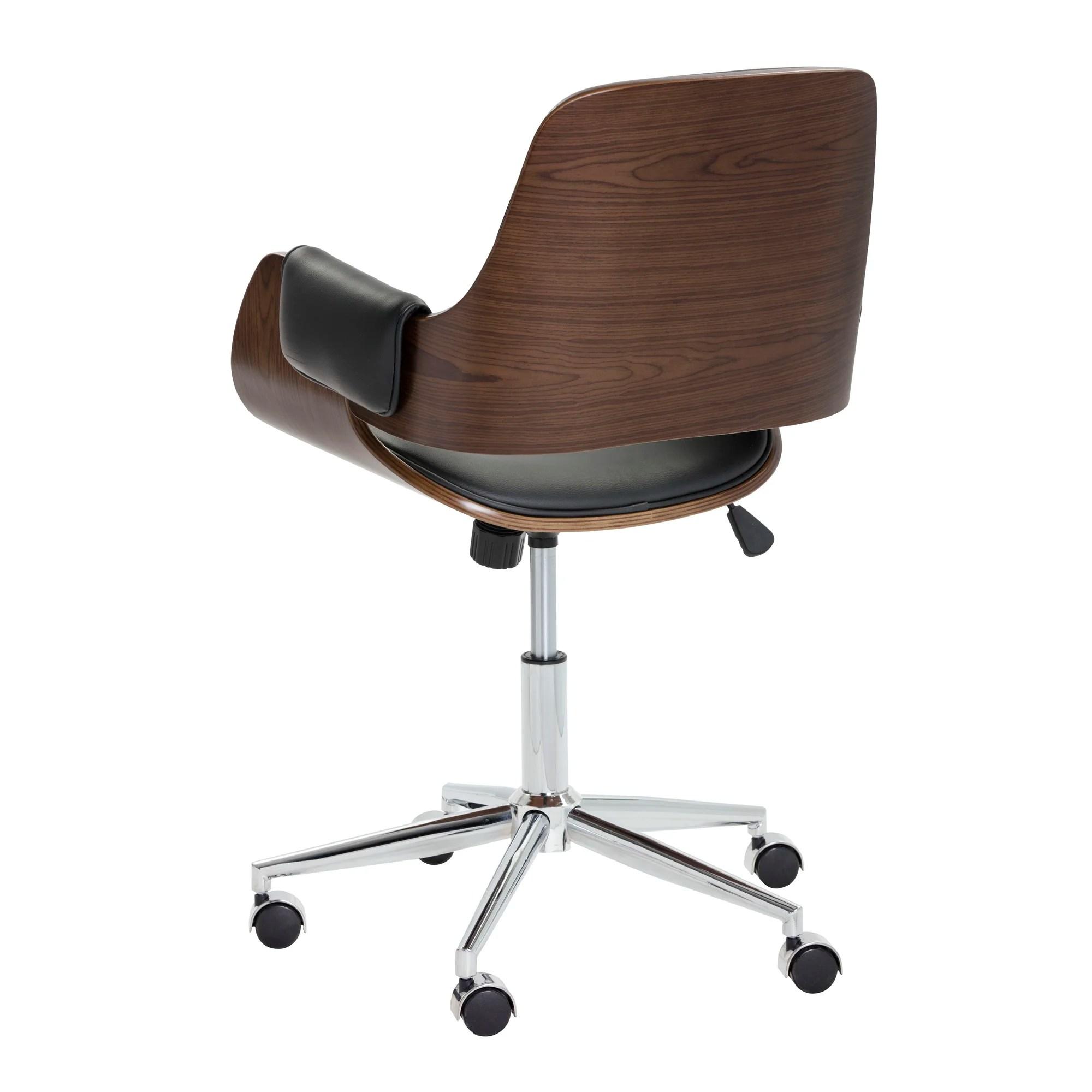 desk chair is too low grey covers ireland sunpan modern kellan back and reviews