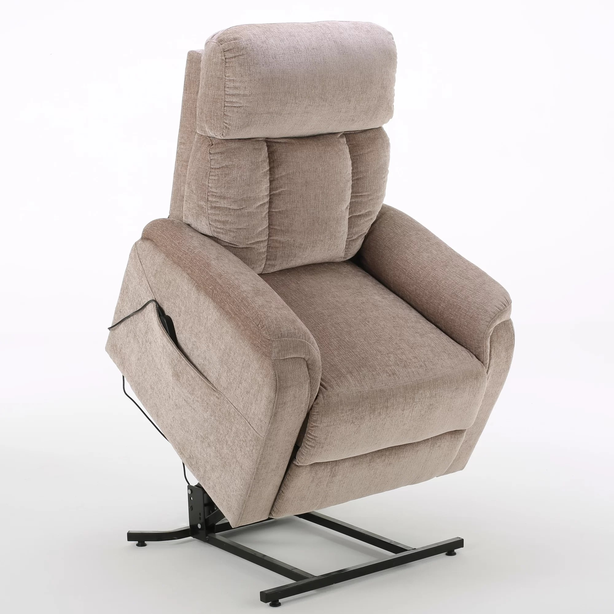 push button recliner chairs big joe bean bag latitude run sasha lift up and reviews wayfair