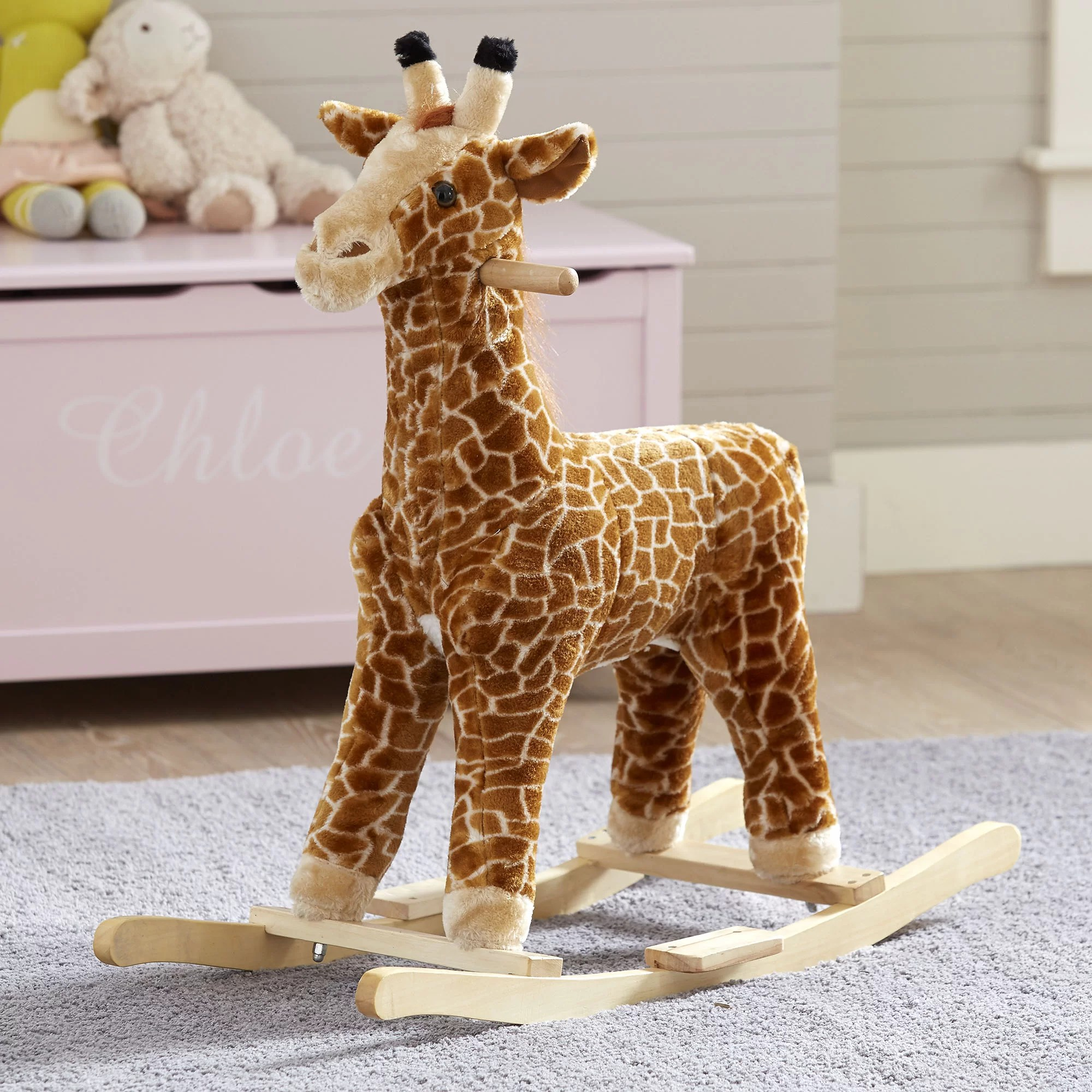 Giraffe Rocking Chair Birch Lane Kids Giraffe Rocker And Reviews Wayfair