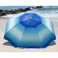 Nautica Beach Chairs Target Wing Chair Covers 7 39 Umbrella And Reviews Wayfair