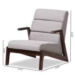 Modern Lounge Chair And Ottoman Set Padmas Plantation Lazzaro Mid Century