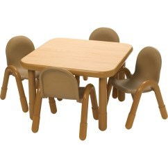 Daycare Table And Chair Set Best For Back Pain Angeles Square Baseline Preschool In