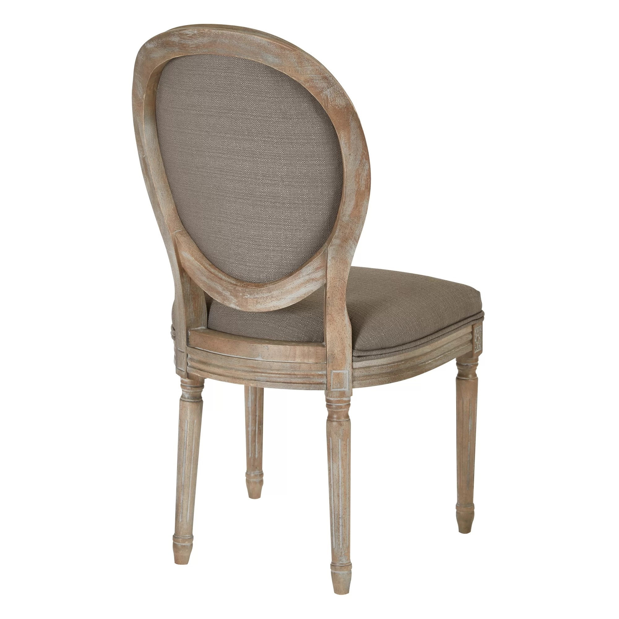 Oval Back Chair Ave Six Lilian Oval Back Dining Side Chair And Reviews Wayfair