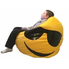Cool Bean Bag Chairs Power Chair Carriers B Andf Manufacturing Emoji Wayfair Ca