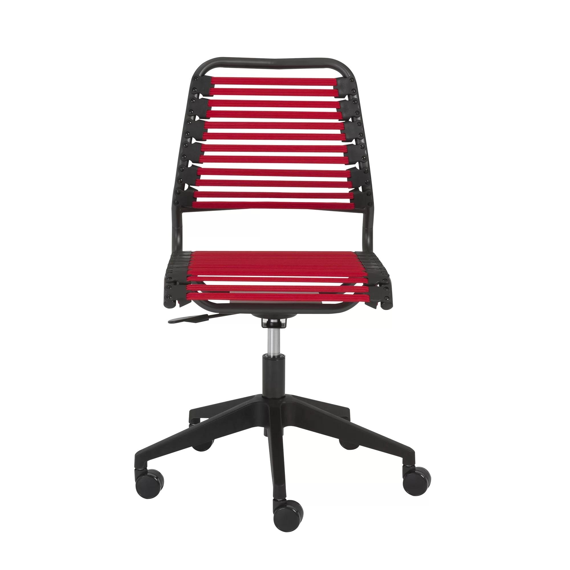 bungie office chair kids reclining chairs wade logan kaylie bungee desk wayfair ca