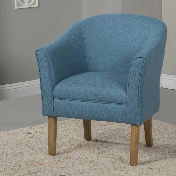 Causey Upholstered Barrel Chair & Allmodern