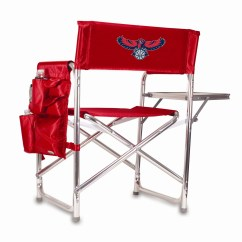 Picnic Time Sports Chair Mission Style Chairside Table Nba And Reviews Wayfair