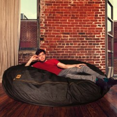 Denim Bean Bag Chair Borge Mogensen Jaxx Cocoon 6 39 And Reviews Wayfair