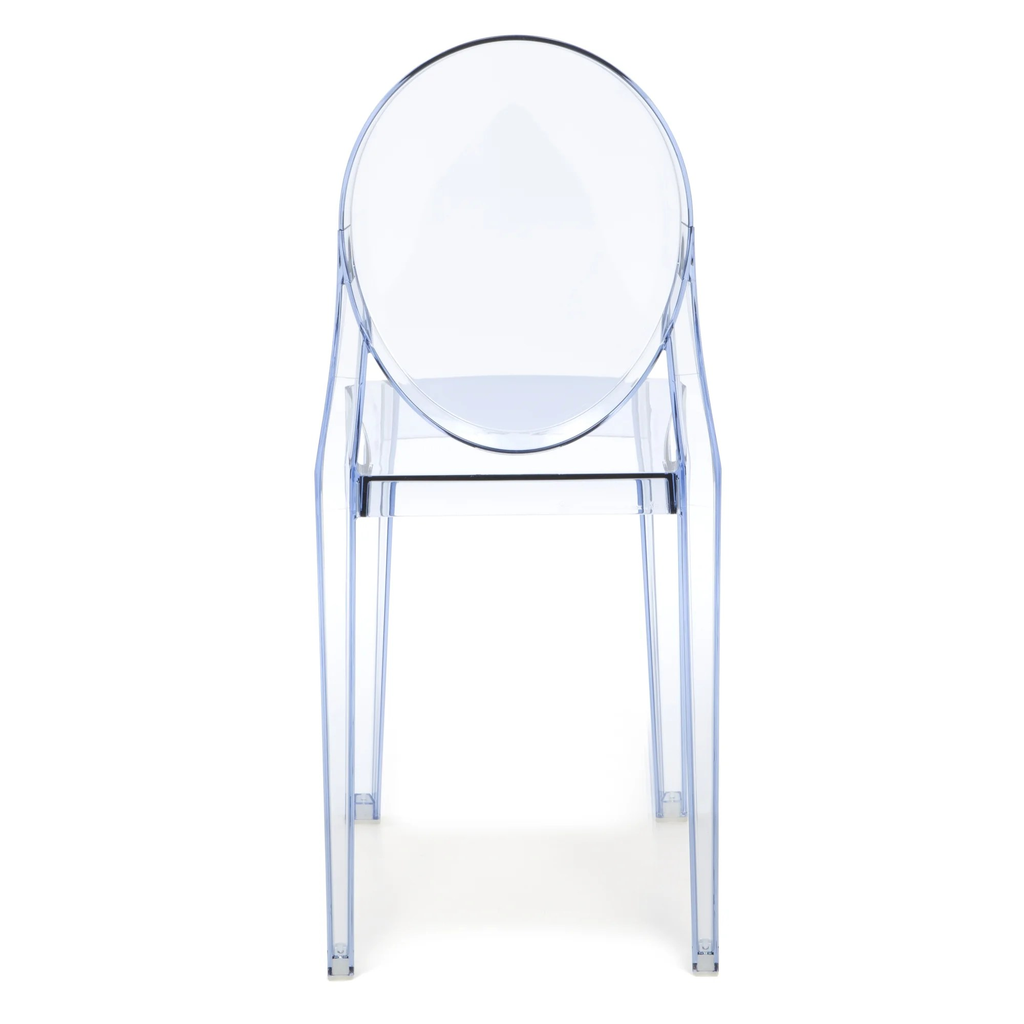 ghost side chair wayfair cushions kartell victoria and reviews supply