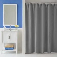 Gray & Silver Shower Curtains You'll Love Wayfair
