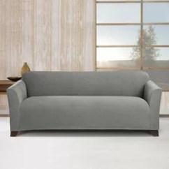 Stretch Morgan 1 Piece Sofa Furniture Cover Armen Living Barrister Slipcovers You'll Love | Wayfair