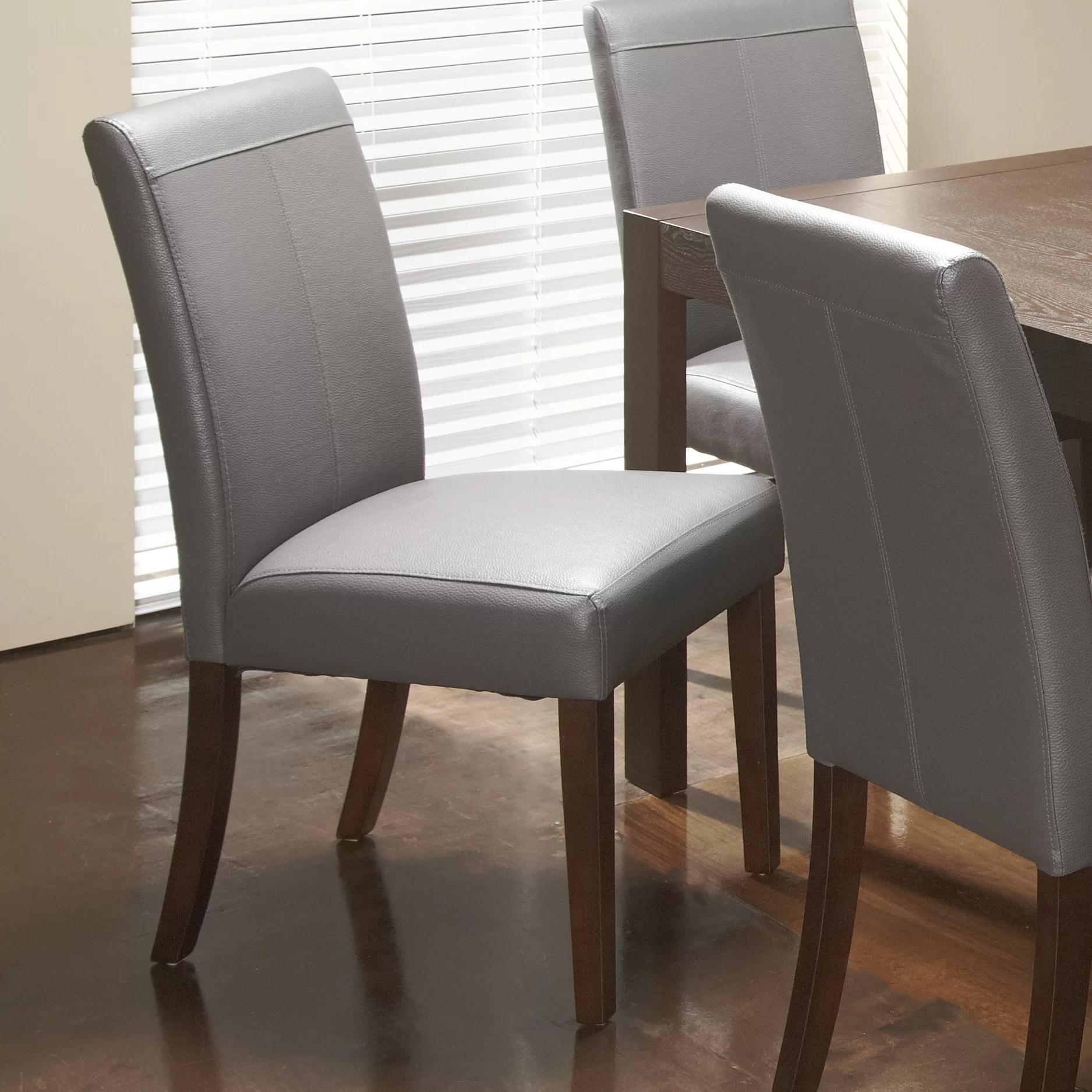 dining chairs canada upholstered antique wooden high chair chateau imports royal genuine leather