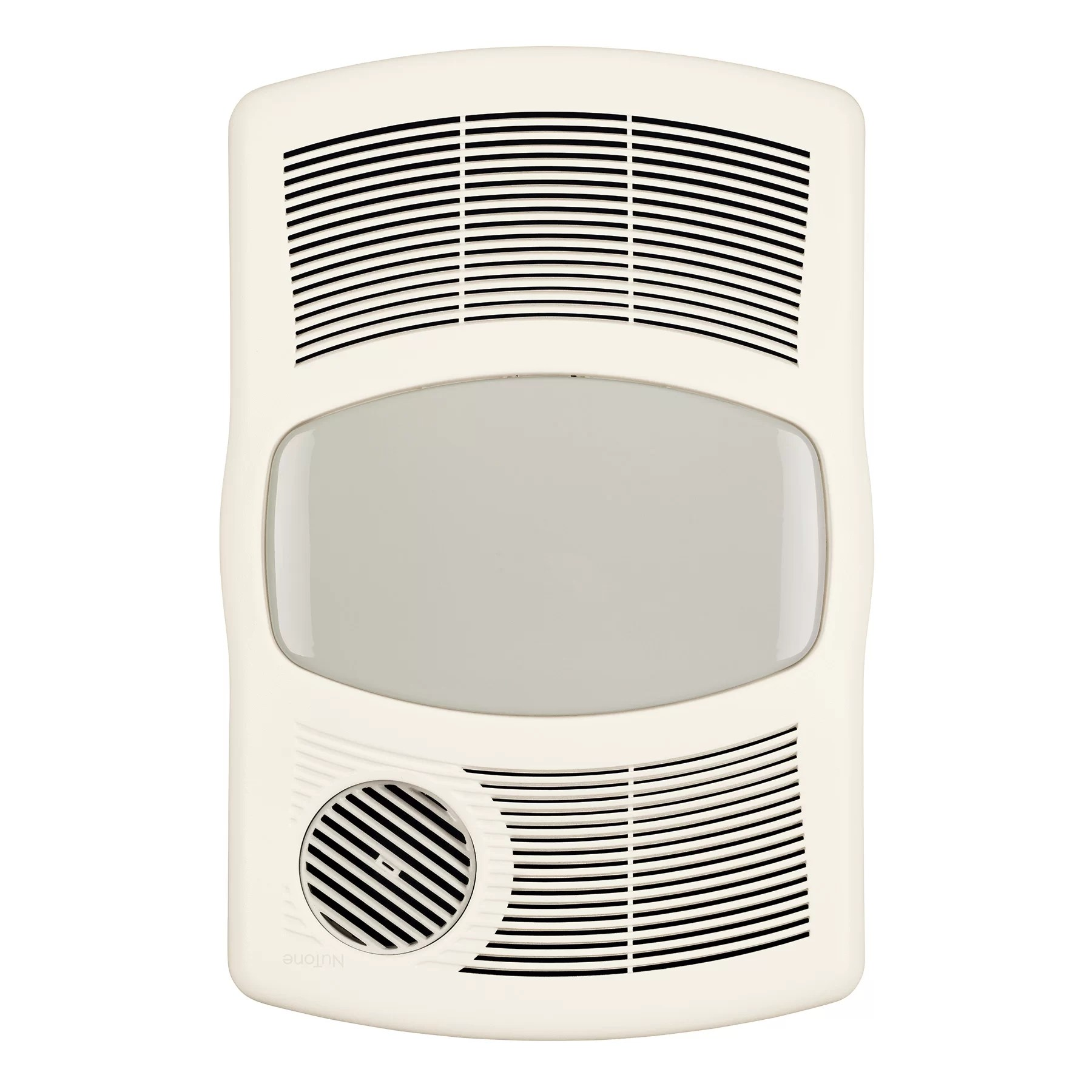 Broan 100 CFM Exhaust Bathroom Fan with Heater  Reviews  Wayfair