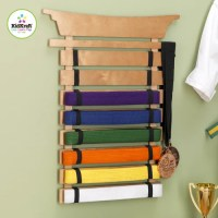 KidKraft Martial Arts Belt Holder Wall Plaque & Reviews