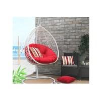 Baner Garden Oval Egg Hanging Patio Swing Chair | Wayfair.ca