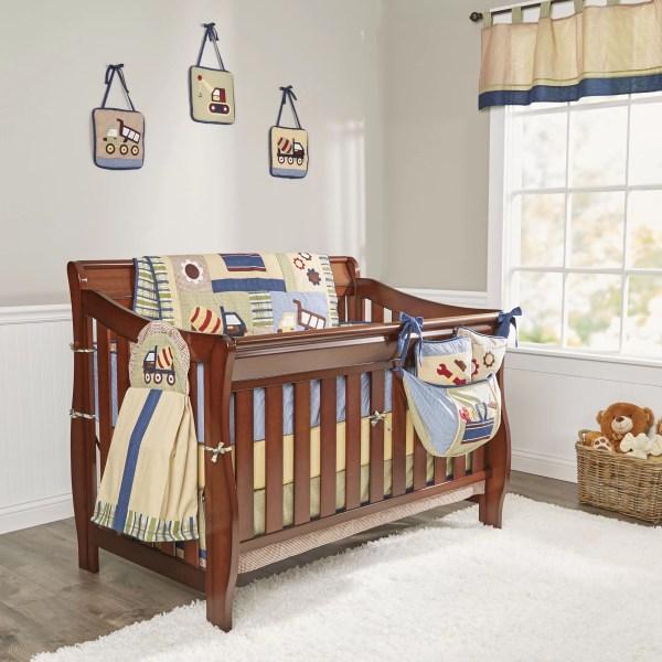 Geenny Boutique Baby Constructor 13 Piece Crib Bedding Set &