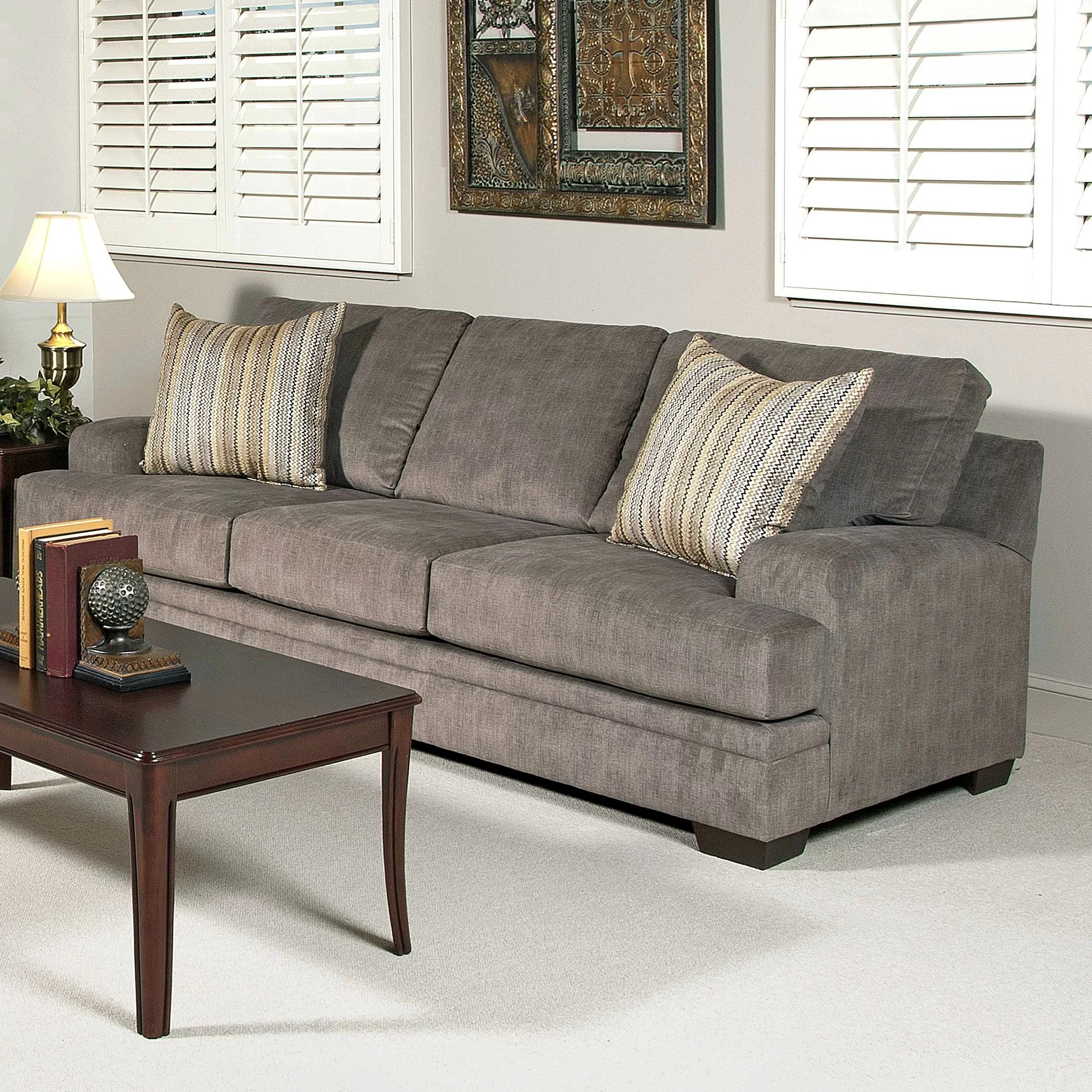 Serta Upholstery Vermont Sofa  Reviews  Wayfair