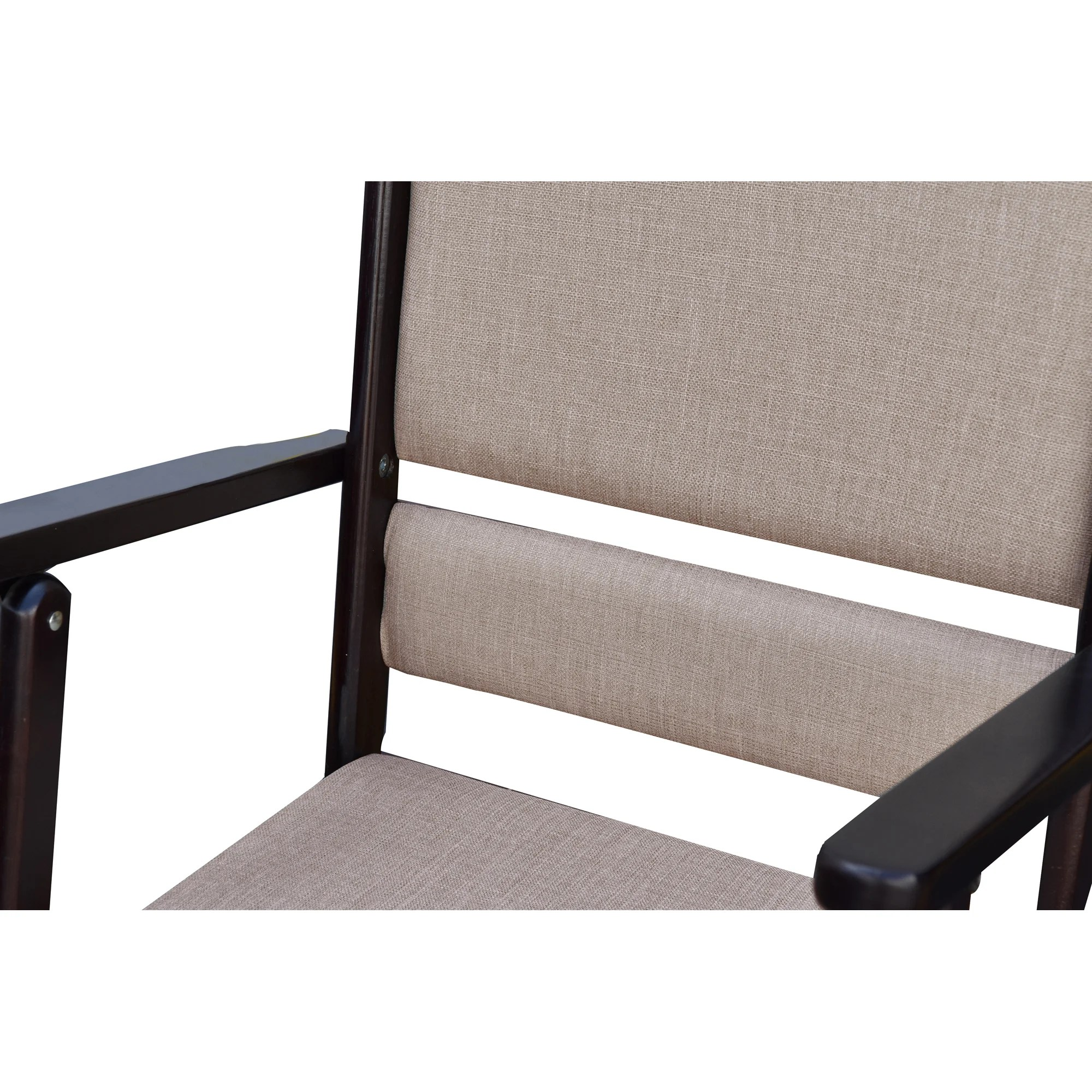 folding rocking chair wood cheap stackable chairs wildon home  cedar creek solid