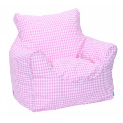 Bean Bag Chair Covers Espresso Leather Babyface Gingham Cover Wayfair Co Uk