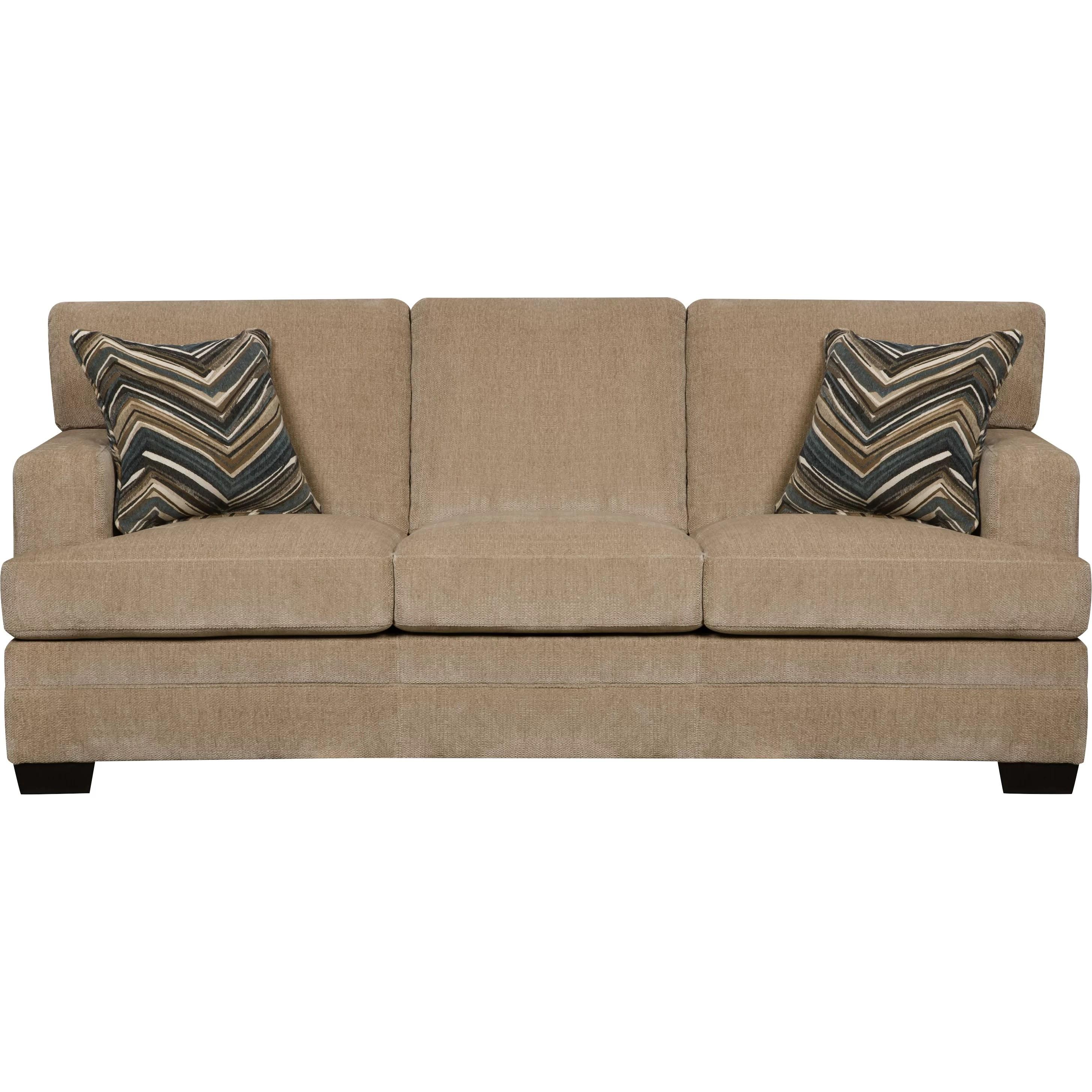 Simmons Upholstery Sassy Barley Sleeper Sofa Reviews Wayfair