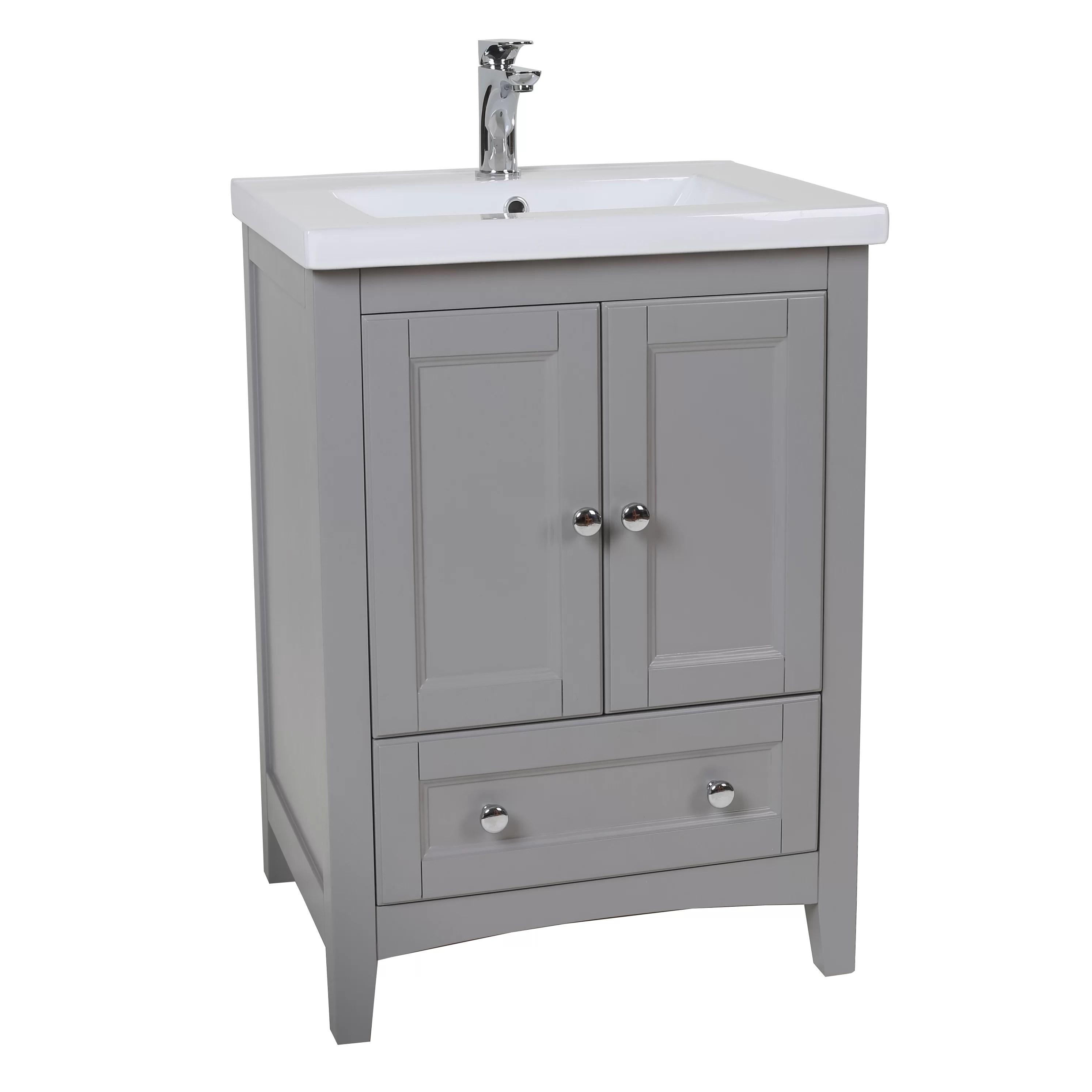 Elegant Lighting Danville 24 Single Bathroom Vanity Set