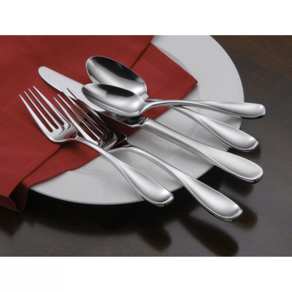 Oneida 45 Piece Voss Premium Tier Flatware Set &