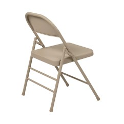 Folding Chair For Office Circular Bamboo Cushion Star Metal And Reviews Wayfair