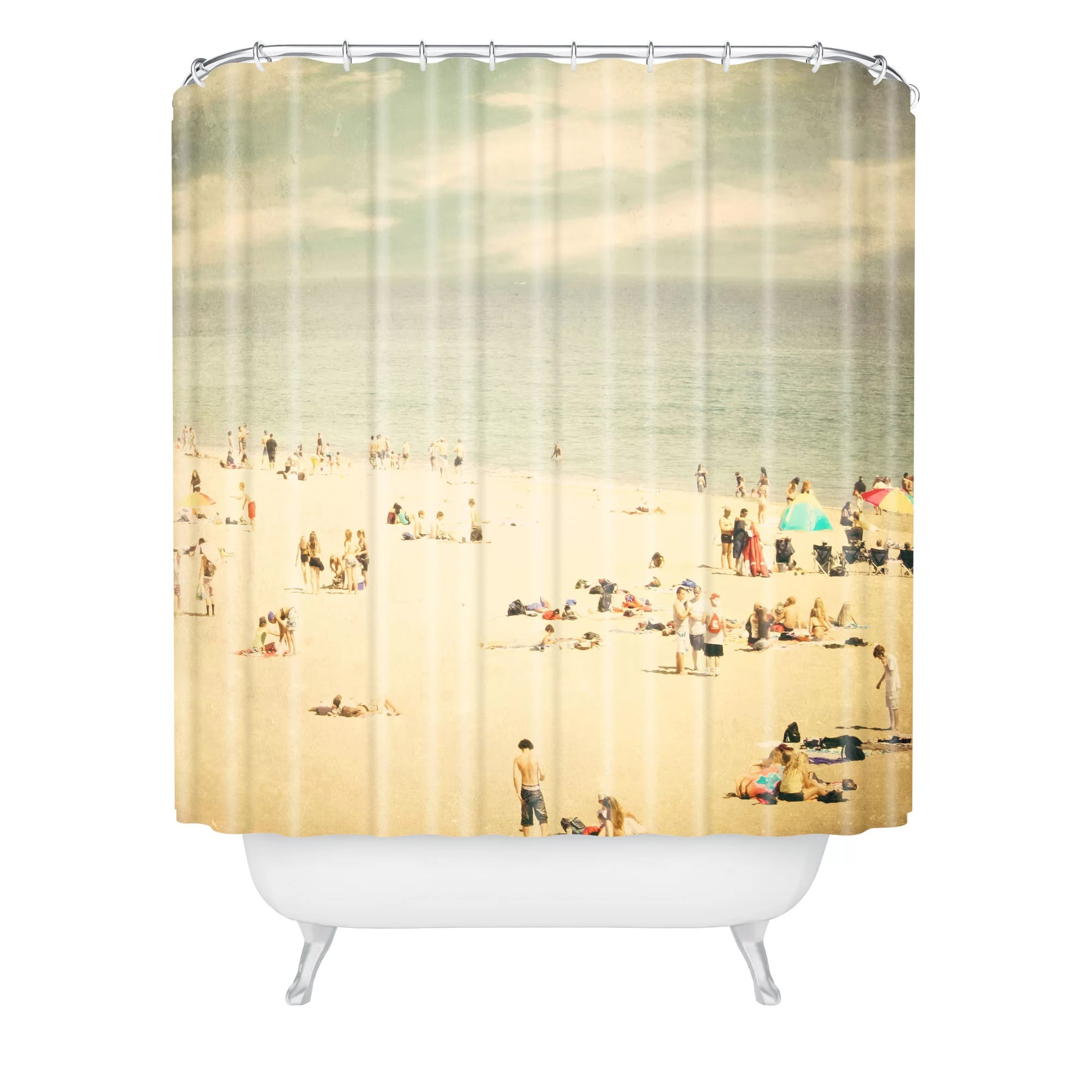 Beachy shower curtains - Deny Designs Shannon Clark Vintage Beach Shower Curtain Reviews