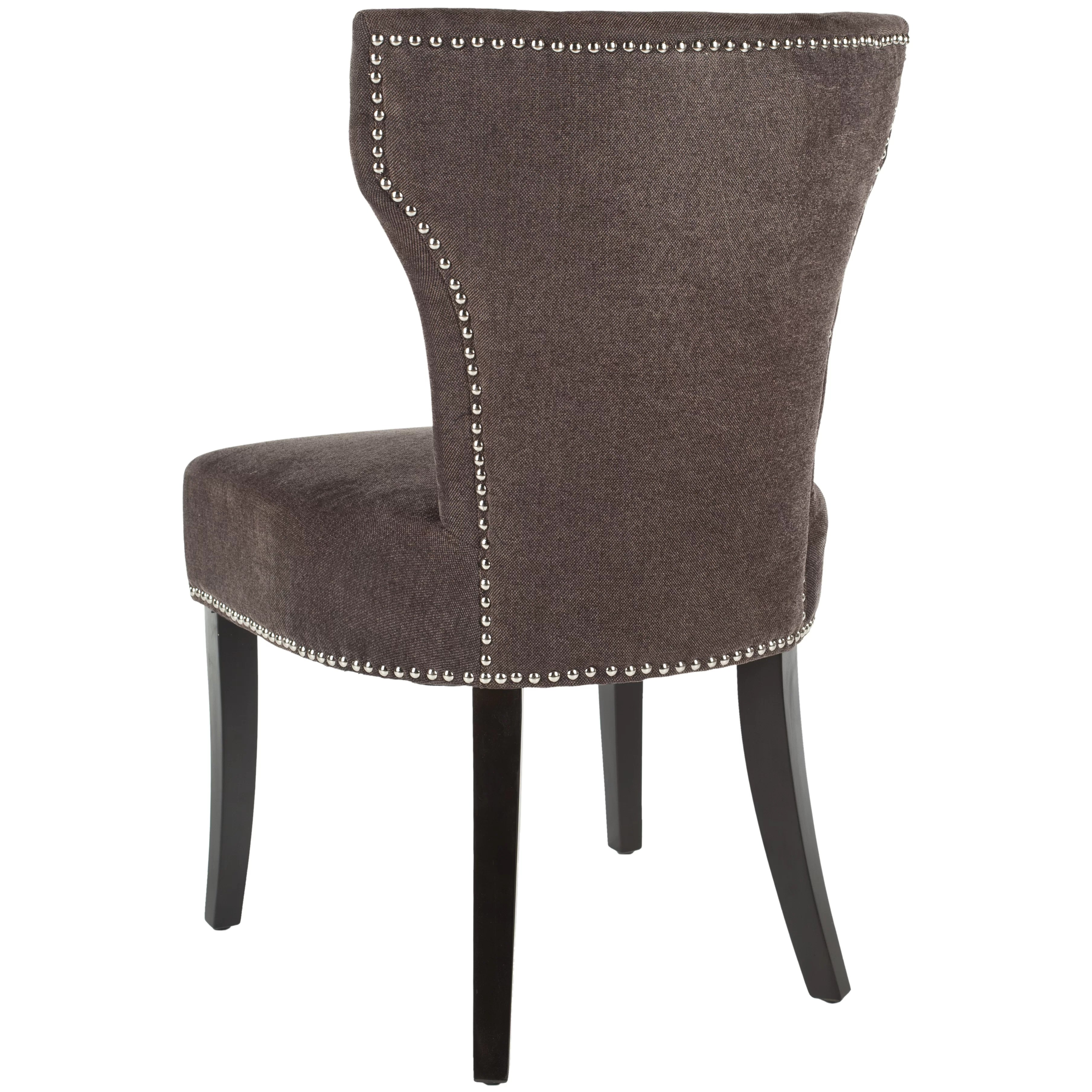 safavieh dining chairs leather swivel recliner chair calhoun solid birch upholstered