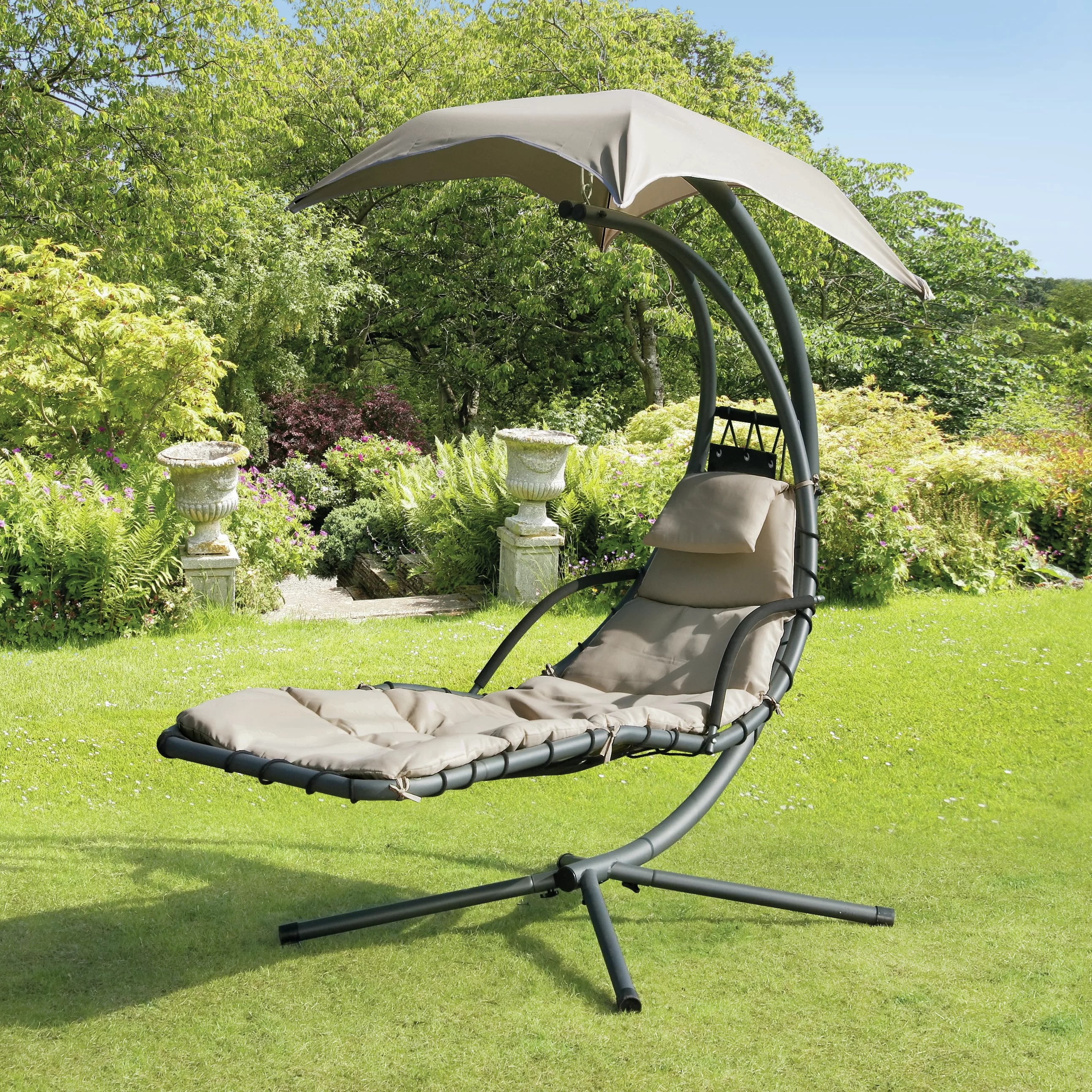 swing chair wayfair covers montreal suntime outdoor living helicopter and reviews