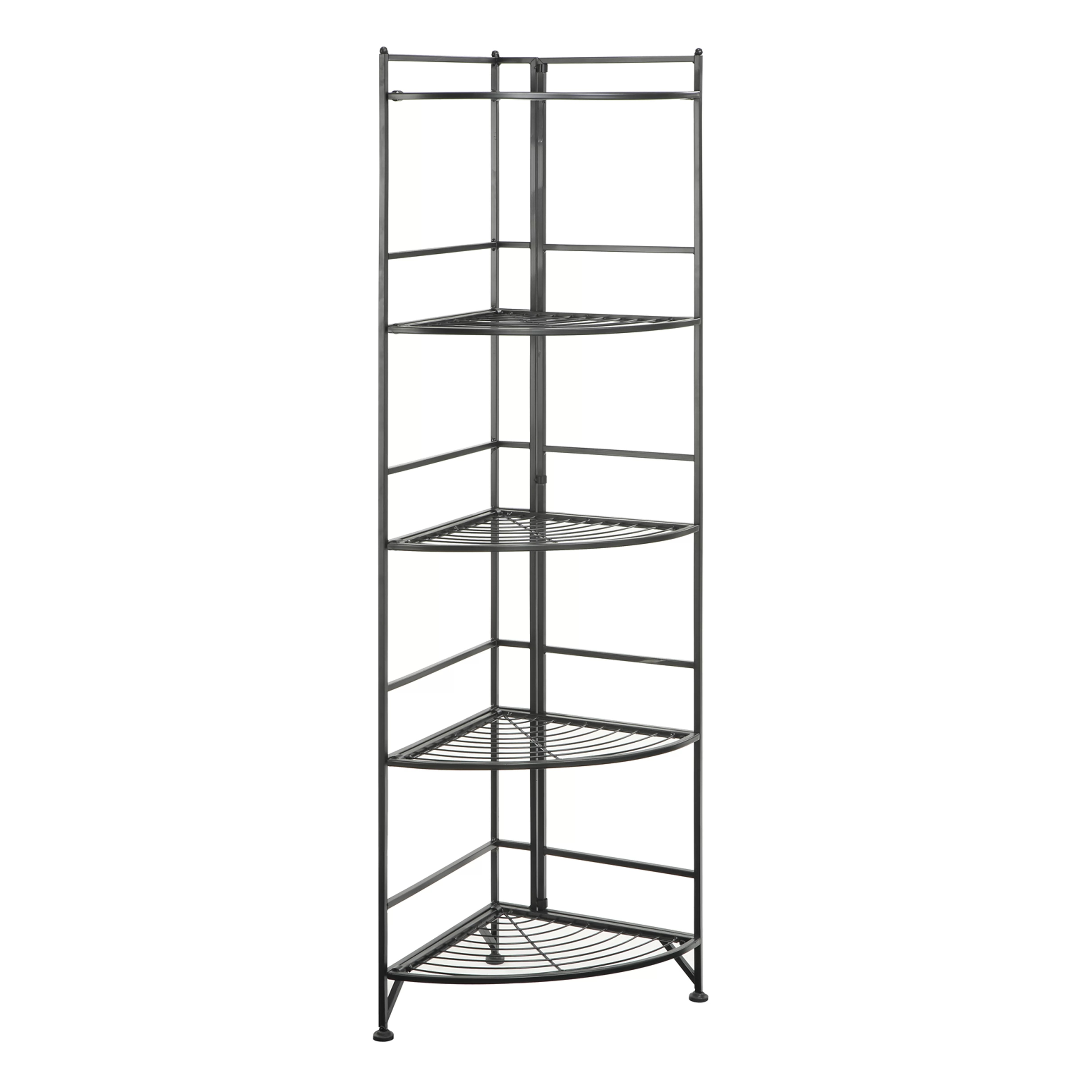 Convenience Concepts Designs 2 Go 5 Tier Folding Metal