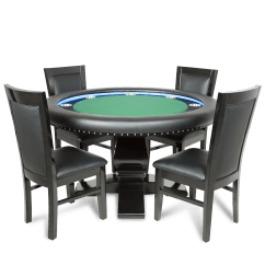 Led Table And Chairs Chair Gym Hsn Bbo Poker Green Suited Speed Cloth Ginza
