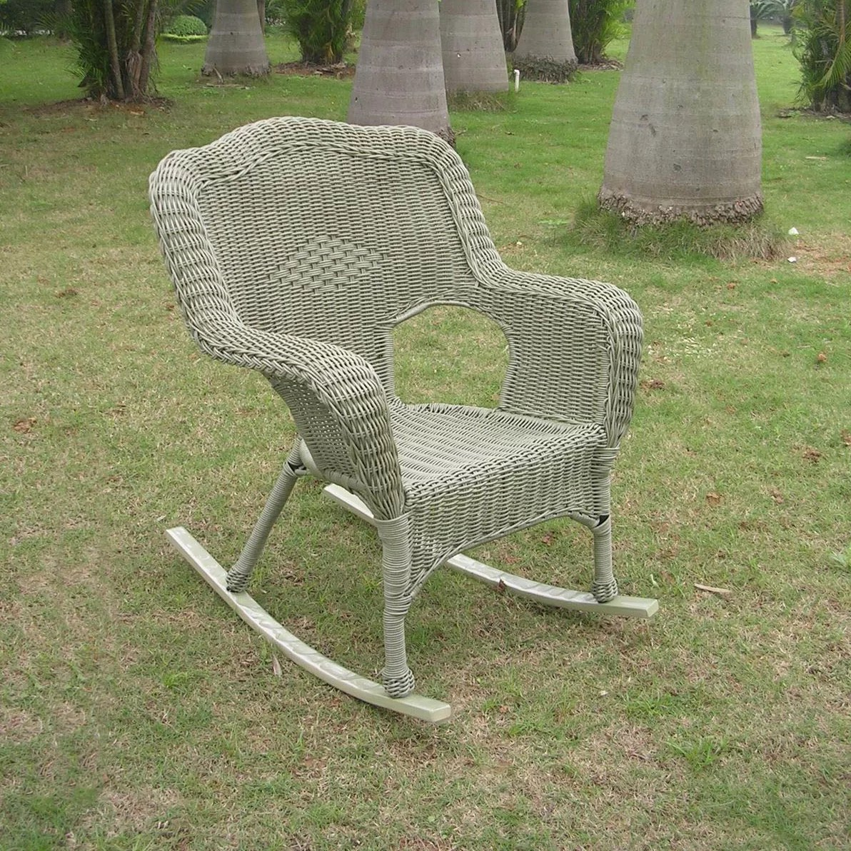 Resin Wicker Rocking Chair International Caravan Chelsea Outdoor Wicker Resin Patio
