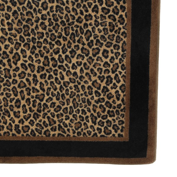 Leopard Animal Print Area Rug