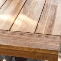 Home Loft Concepts Marseille Rustic Metal 3 Piece Dining
