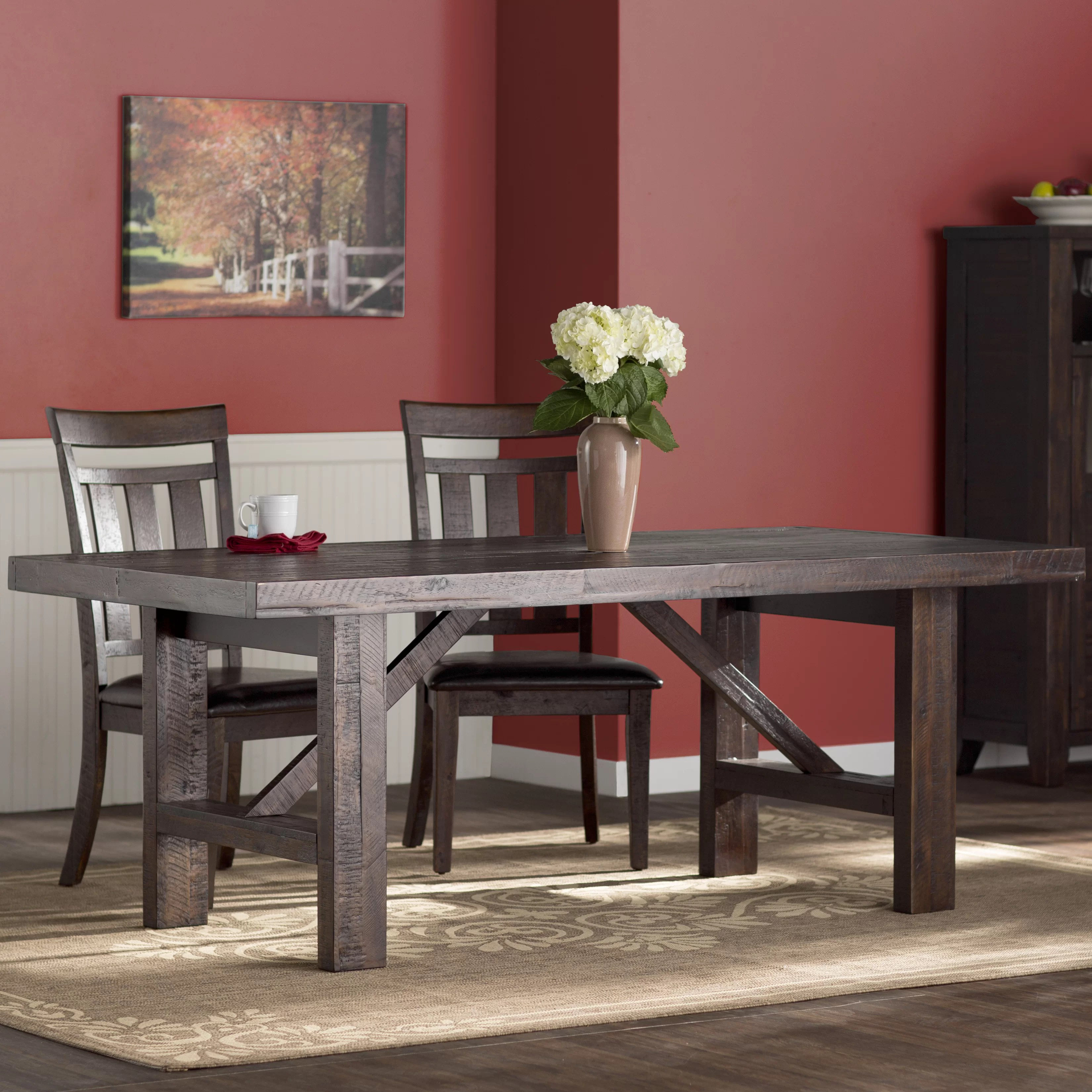 Three Posts Apple Valley Dining Table  Reviews  Wayfair