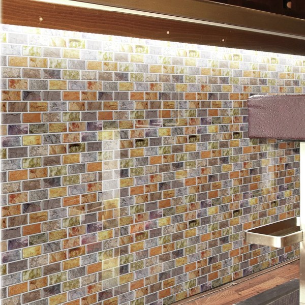 "Instant Mosaic 12"" X Epoxy Peel & Stick Tile In"