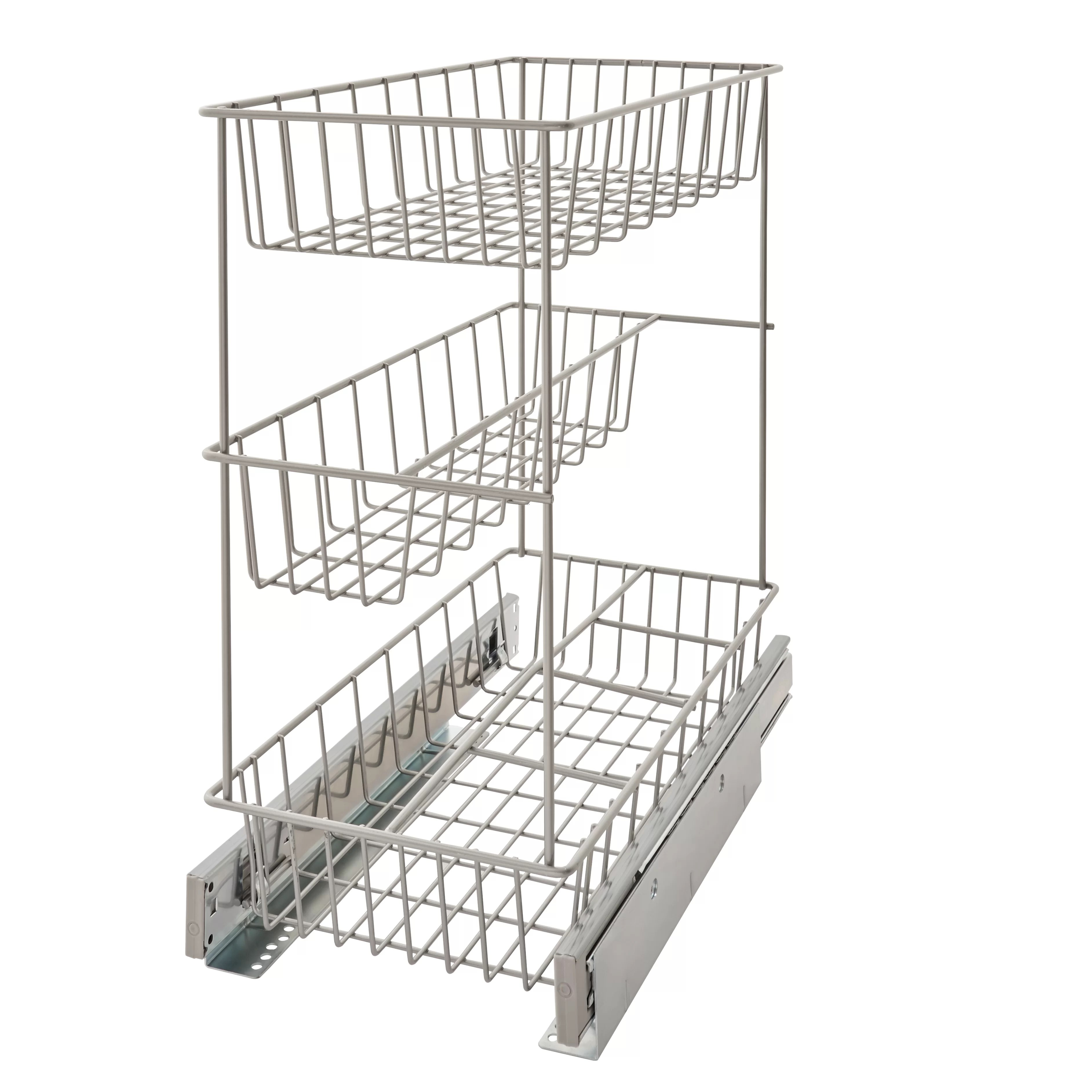 Ingenious Closet Organizers Pull Out Baskets