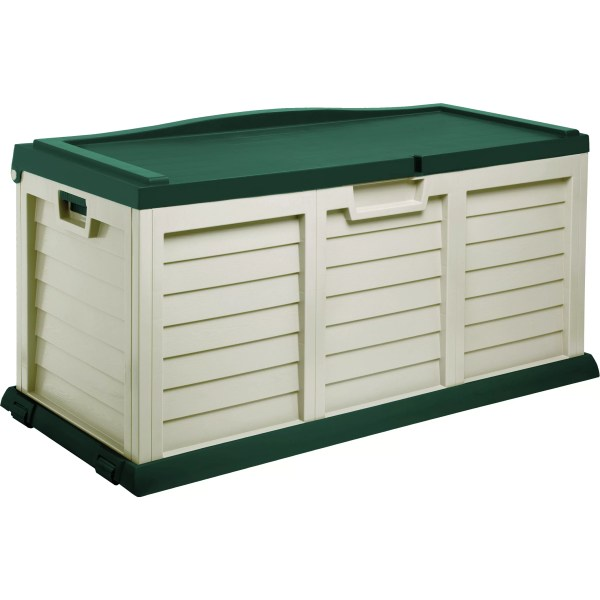 Starplast 103 Gallon Deck Storage Box With Seat &