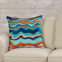Trina Turk Residential Waterflow Linen Throw Pillow ...