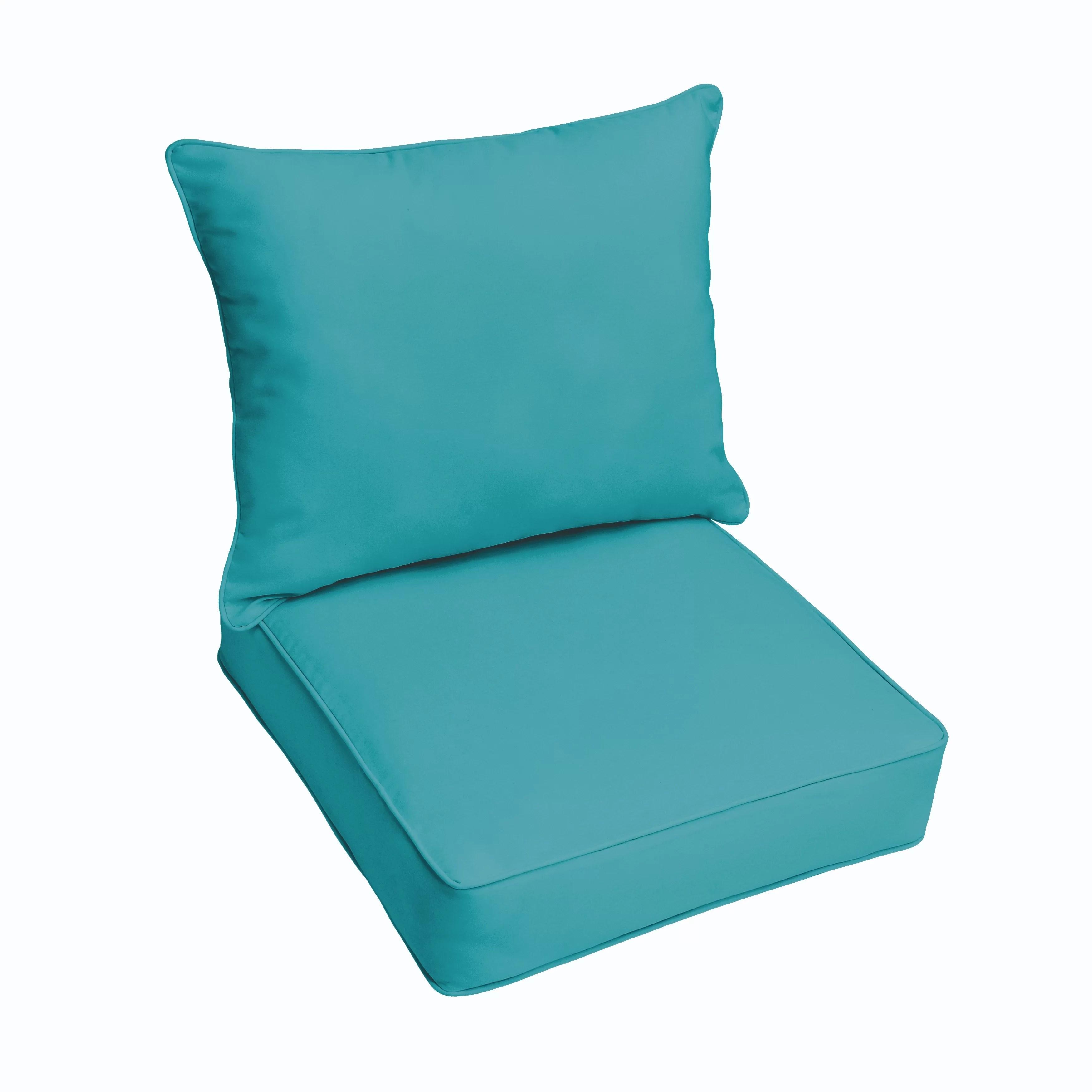 one piece patio chair cushions graco swing youtube beachcrest home 2 outdoor sunbrella cushion