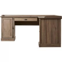 Beachcrest Home Bowerbank L-shaped Executive Desk