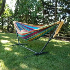 Hammock Chair Stand Canadian Tire Stands Beachcrest Home Dorinda Cotton With