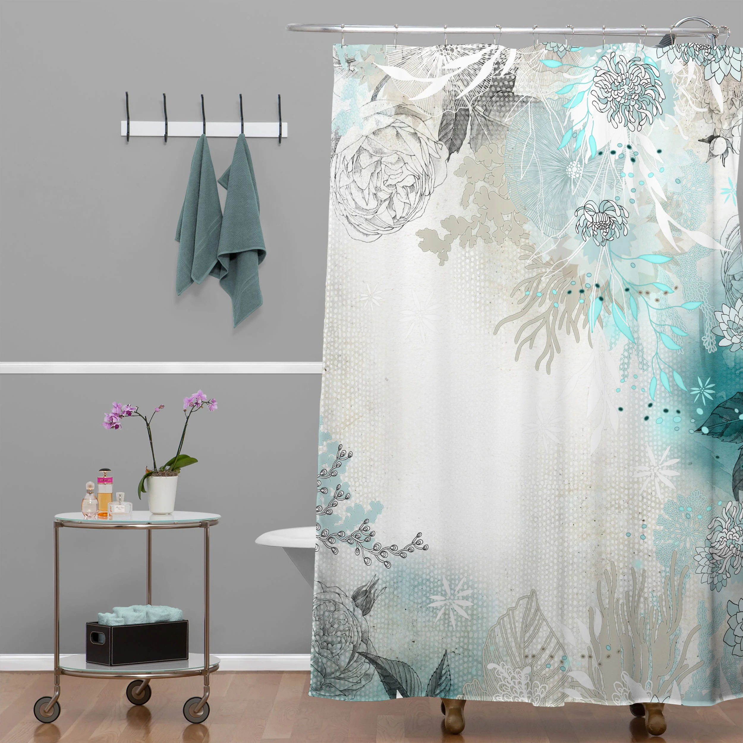 Extra Long Shower Curtain Liner 74