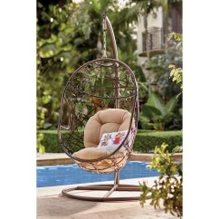 Egg Chair Swing With Stand Eiffel Wire Duncombe Shaped Outdoor