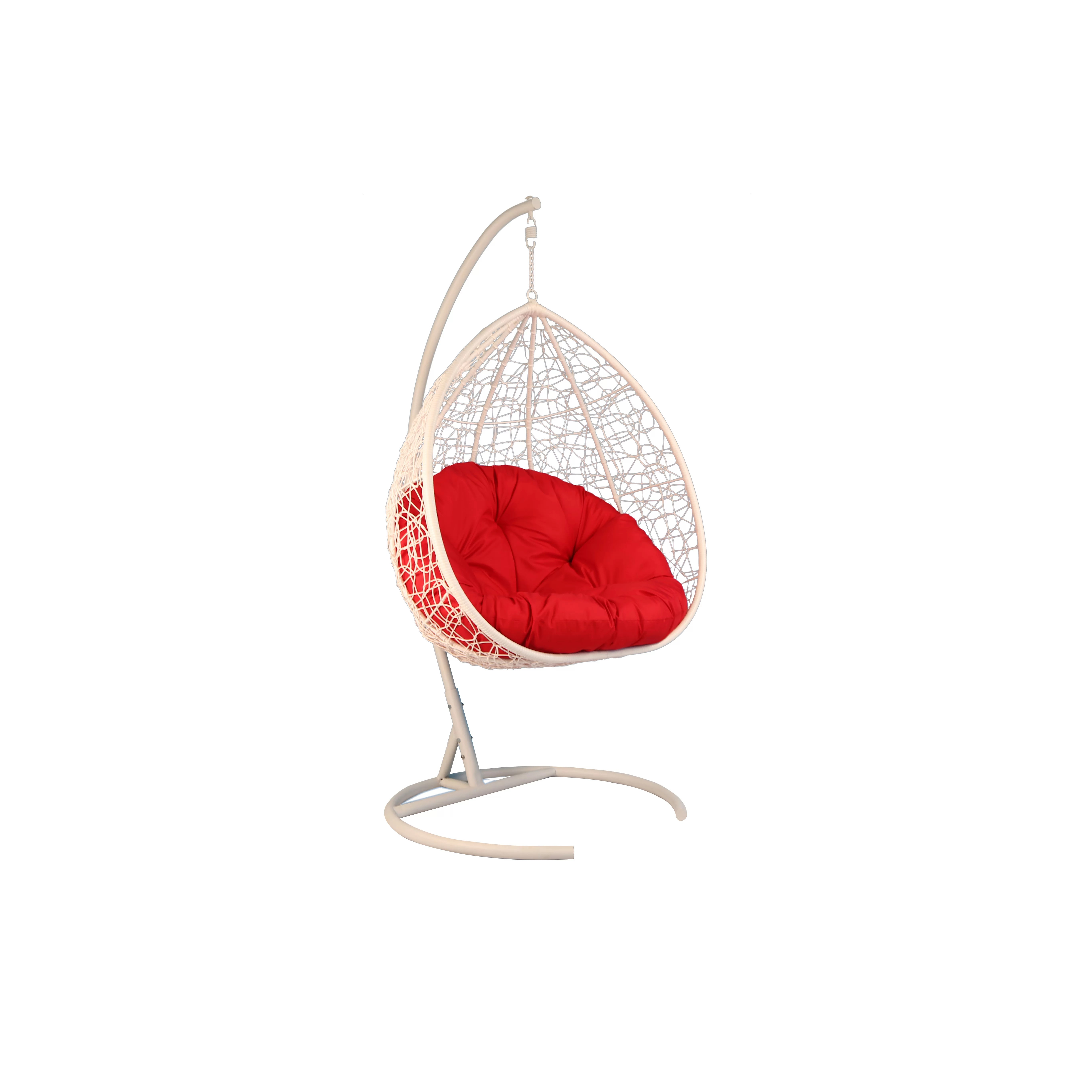Egg Swing Chair Baner Garden Oval Egg Hanging Patio Swing Chair Wayfair Ca