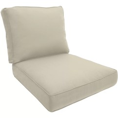 Double Lounge Chair Outdoor Sofa Bed Tesco Piped Cushion And Reviews