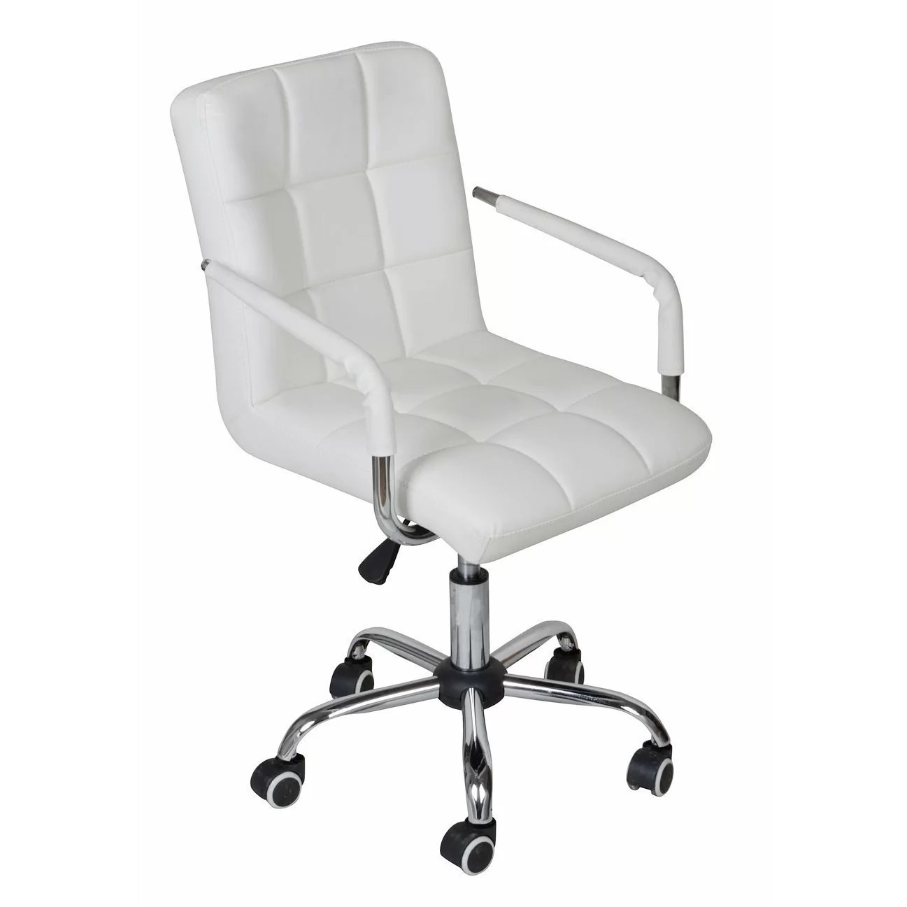 Calhome Adjustable Rolling Office Chair  Reviews  Wayfairca