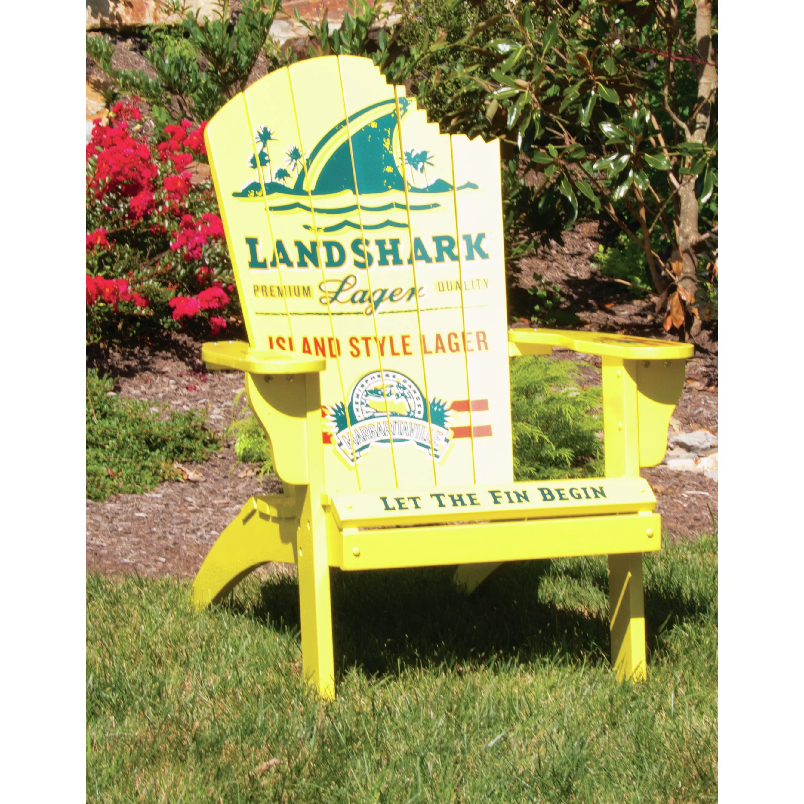 margaritaville chairs for sale swing chair b&q quotlandshark quot adirondack and reviews